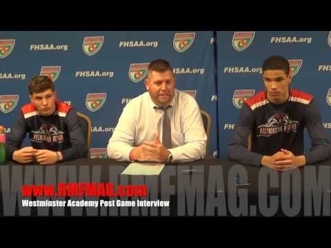 Westminster Academy Post Game Interview