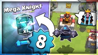 Gambar cover LEVEL 8 F2P - ROAD TO LEGENDARY ARENA - Ep 1 - Clash Royale Trophy Pushing F2P Account!