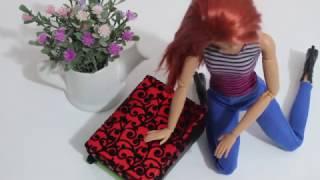 Barbie Bavul - Valiz Yapımı - DIY - Kendin Yap Barbie Eşyaları - Bidünya Oyuncak