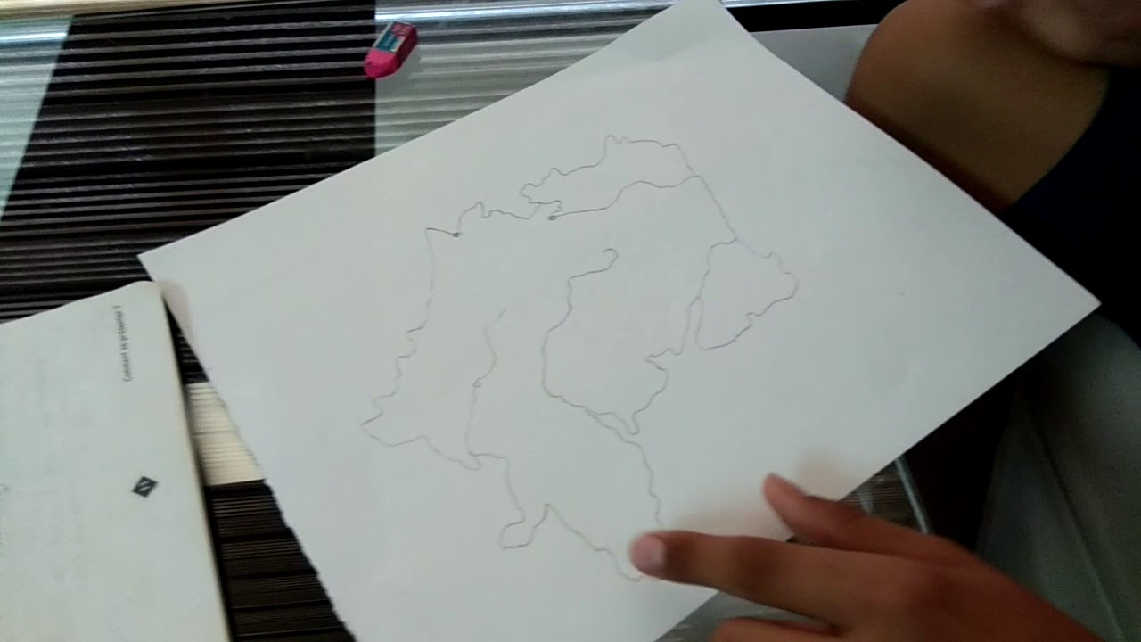 How To Draw A Map Of France.How To Draw France Map Youtube