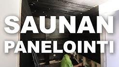 Timpurille Talo | Saunan panelointi
