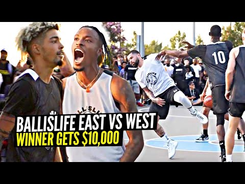 Download SH** GOT HEATED & PHYSICAL w/ $10,000 On The Line!! Ballislife East Coast vs West Game!!