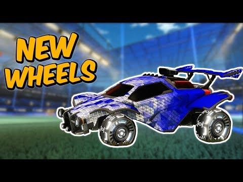 ? New White Mothership Pro Wheels in Rocket League thumbnail