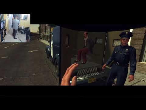 Plazethrough: L.A. Noire: The VR Case Files (Part 1)