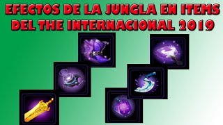 Efectos de la Jungla en Items del The Internacional 2019