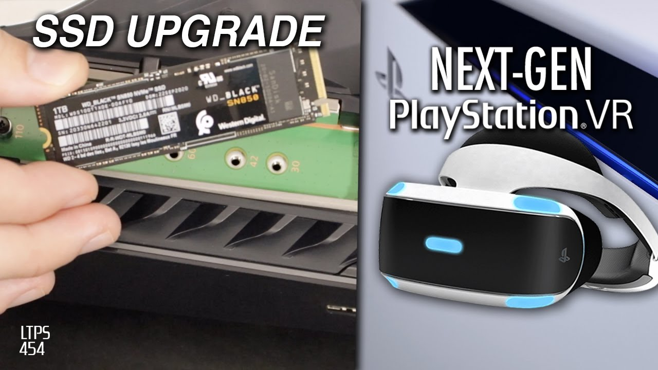 PS5 SSD Upgrade This Summer. Next-Gen VR For PS5. More PC Games From Sony. - [LTPS #454]