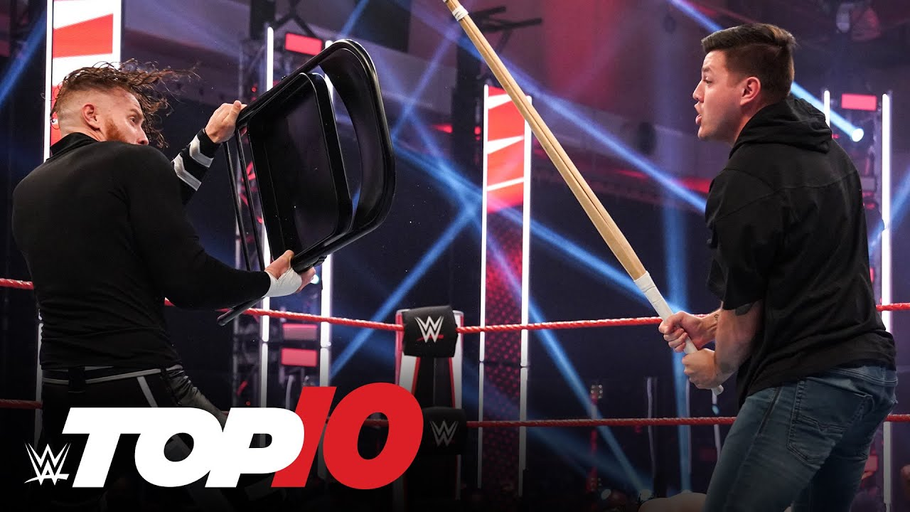 Top 10 Raw moments: WWE Top 10, Aug. 3, 2020