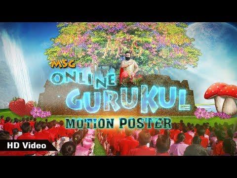 Motion Poster – MSG Online Gurukul | Saint Dr MSG Insan | Honeypreet Insan