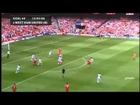 Những pha sút xa đẳng cấp của Steven Gerrard - Bongxoay.com