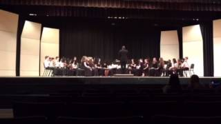 ASCS Middle School Band - Advance Guard March