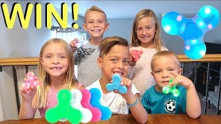 GIVEAWAY - 25 LED Bluetooth Fidget Spinners!