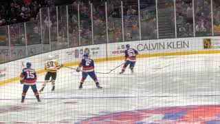 December 10 2018 Penguins at Islanders Nassau Coliseum Opening Shift
