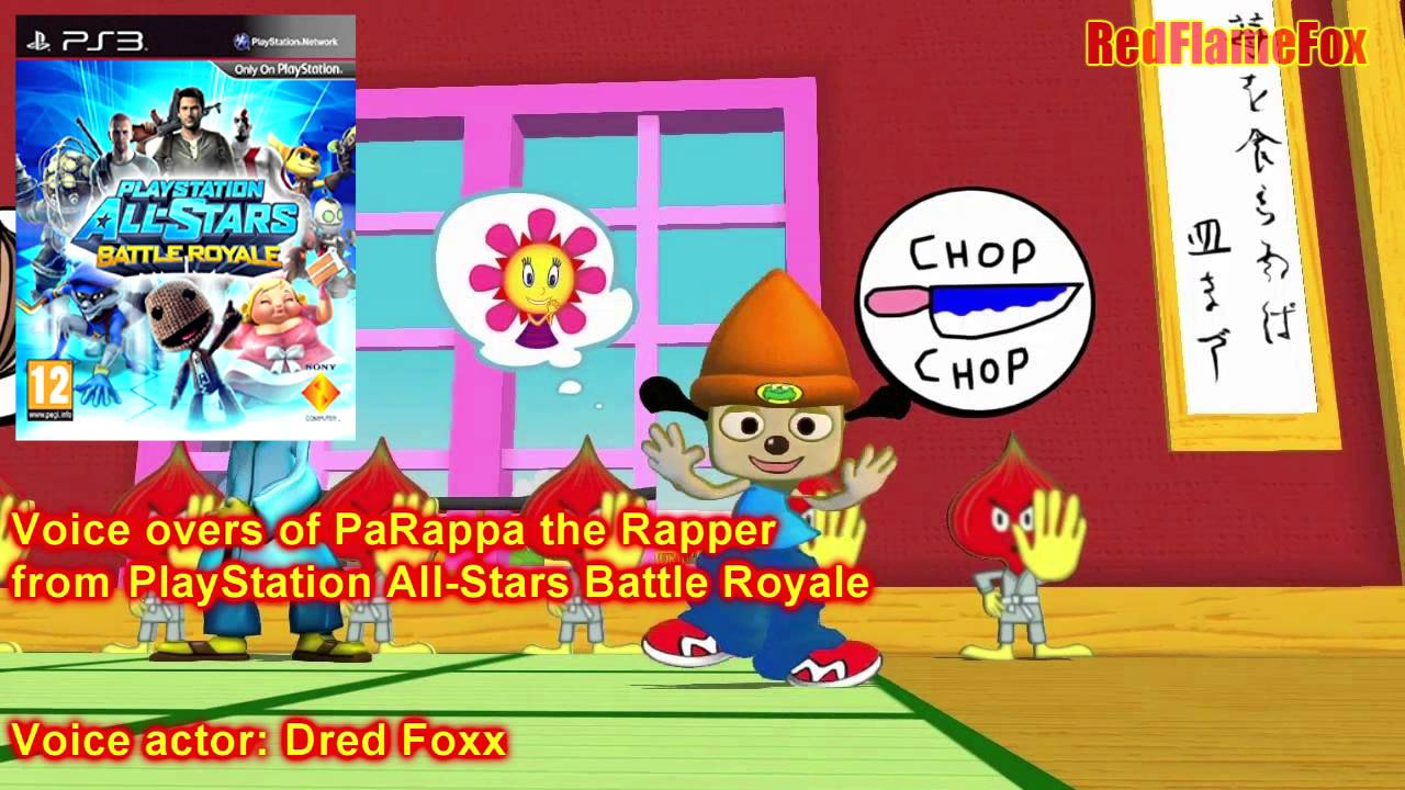 Playstation All Stars Battle Royale Parappa The Rapper Voice Over