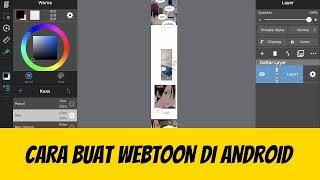 Cara Buat Webtoon di Android - Author TRICKSTER