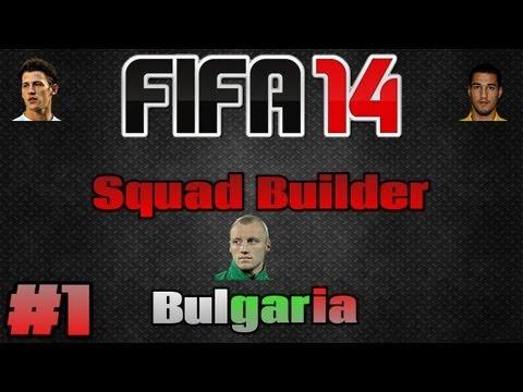 Fifa 14 - Squad Builder - Bulgaria