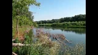 Река Урал Оренбург рыбалка с внуком