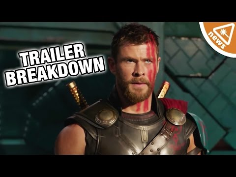 6 Things You Missed in the Thor Ragnarok Trailer! (Nerdist News w/ Jessica Chobot)