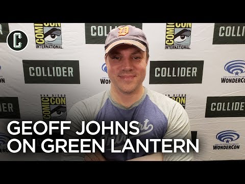 Geoff Johns on Green Lantern Corps and Rebooting the Character