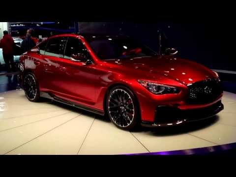 Infiniti Q50 Sedan [Detroit International Auto Show 2014]