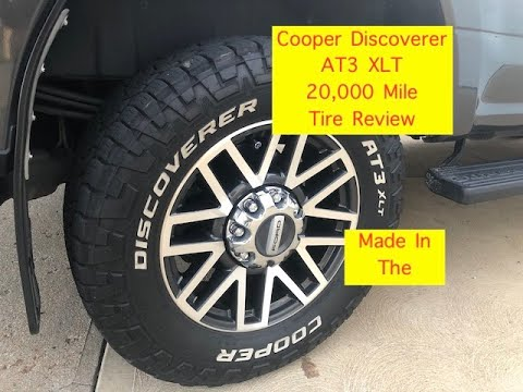 Cooper Discoverer AT3 XLT 20,000 Mile Review #Cooper #TireReview