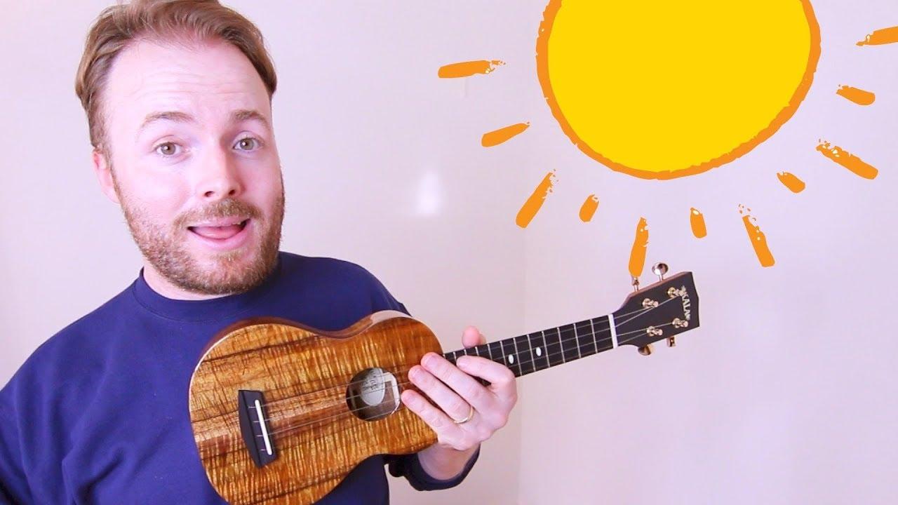 Walking on sunshine easy ukulele tutorial katrina the waves walking on sunshine easy ukulele tutorial katrina the waves hexwebz Images