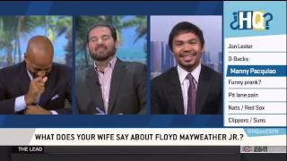 Manny Pacquiao interview on ESPN's Highly Questionable