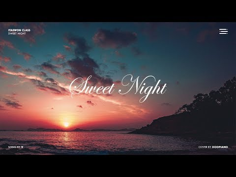 BTS V - Sweet Night Piano Cover