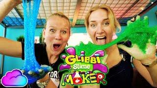 GLIBBI SLIME MAKER CHALLENGE - Nina & Kathi testen EXTREM GLIBBRIGEN SCHLEIM für die Badewanne