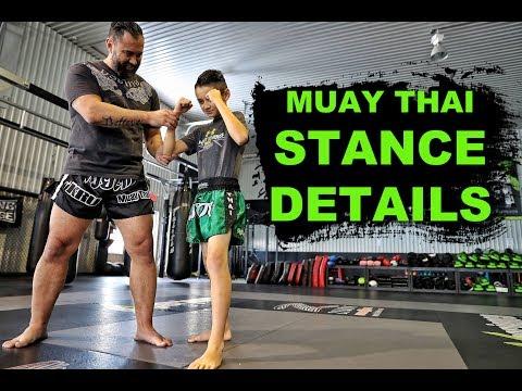 Proper Muay Thai Stance | Thai Boxing | Foundation Basics