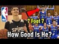 "How GOOD Is 7'7"" Sophomore Robert Bobroczky ACTUALLY? Will He Make The NBA?"