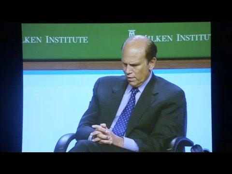 Eric Schmidt at the Milken Institute Global Conference