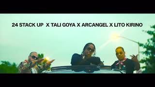 Tu No Eres Ganga - 24 Stack Up Ft. Tali Goya ❌ Arcángel �...