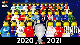 Champions League 2020 21 Preview Group Stage Draw Season 2021 Lego Football Film