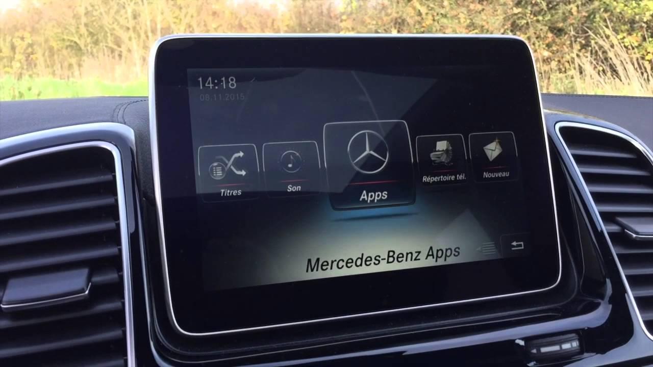Mercedes Comand Online Test