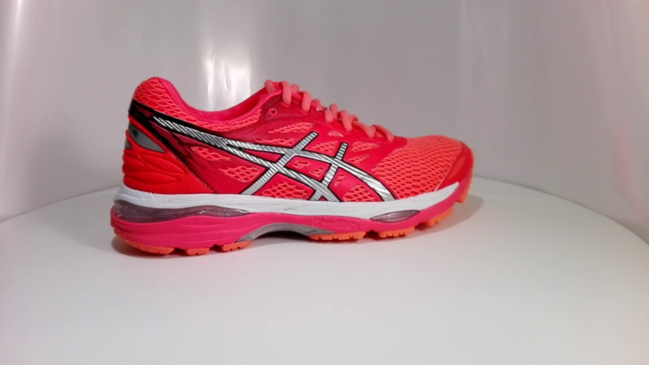 9f404427c37 Asics Gel Cumulus 18 (T6C8N-2093) - damskie buty do biegania - YouTube