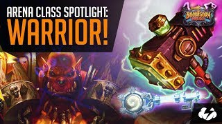 Arena Class Spotlight, Warrior! | Hearthstone | [The Boomsday Project]