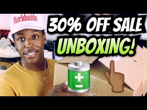 30% Off Sale Unboxing From Black Market USA #Blessings