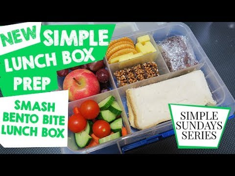 SIMPLE LUNCHBOX PREP FOR BENTO STYLE LUNCHBOX - #simplesundays With This Mum At Home Australia