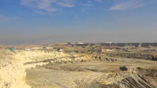 أكبر موقع حفر فى قناة السويس الجديدة