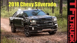 Just In: 2018 Chevy Silverado Facts And Features Announced!