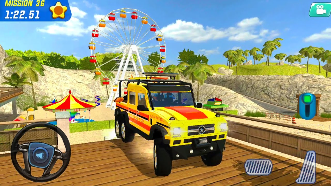 LifeGuard Beach Patrol Simulator - Coast Emergency Patrol #6 - Android Gameplay