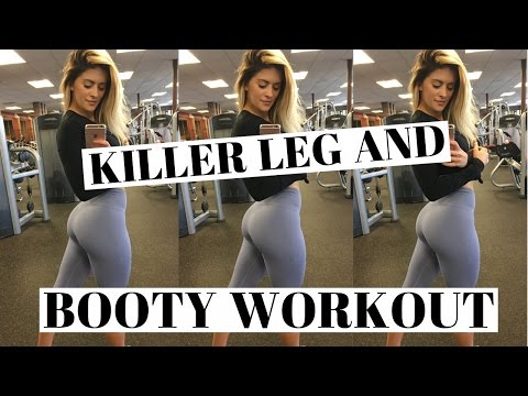 HOT & HEAVY Leg And Booty WORKOUT