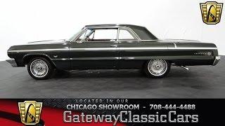 1964 Chevrolet Impala SS Gateway Classic Cars Chicago #833