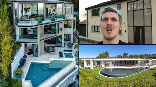 Top 5 YouTuber Homes