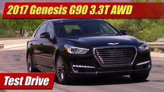 2017 Genesis G90 3.3T AWD Test Drive