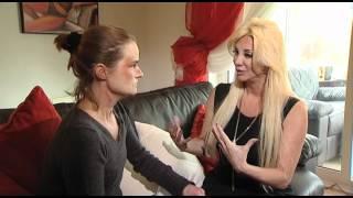 Sarah Burge meets Domestic Violence Survivor