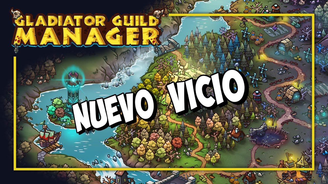 Download OJO que VICIO de JUEGO - GLADIATOR GUILD MANAGER Gameplay Español