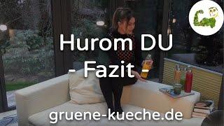 Hurom DU Slow Juicer - Zusammenfassung (Teil 6/6)