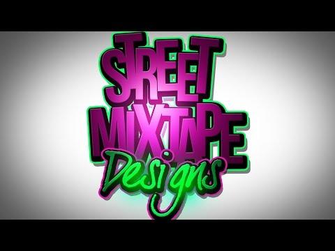 PSD Photoshop CS6 Adobe Text Mixtape Cover Art Graphic Design Tutorials