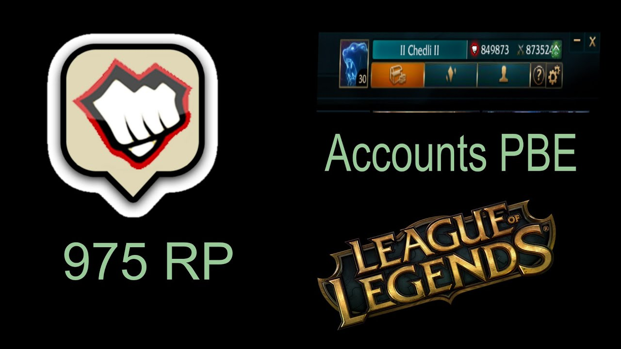 giveaway league of legends account
